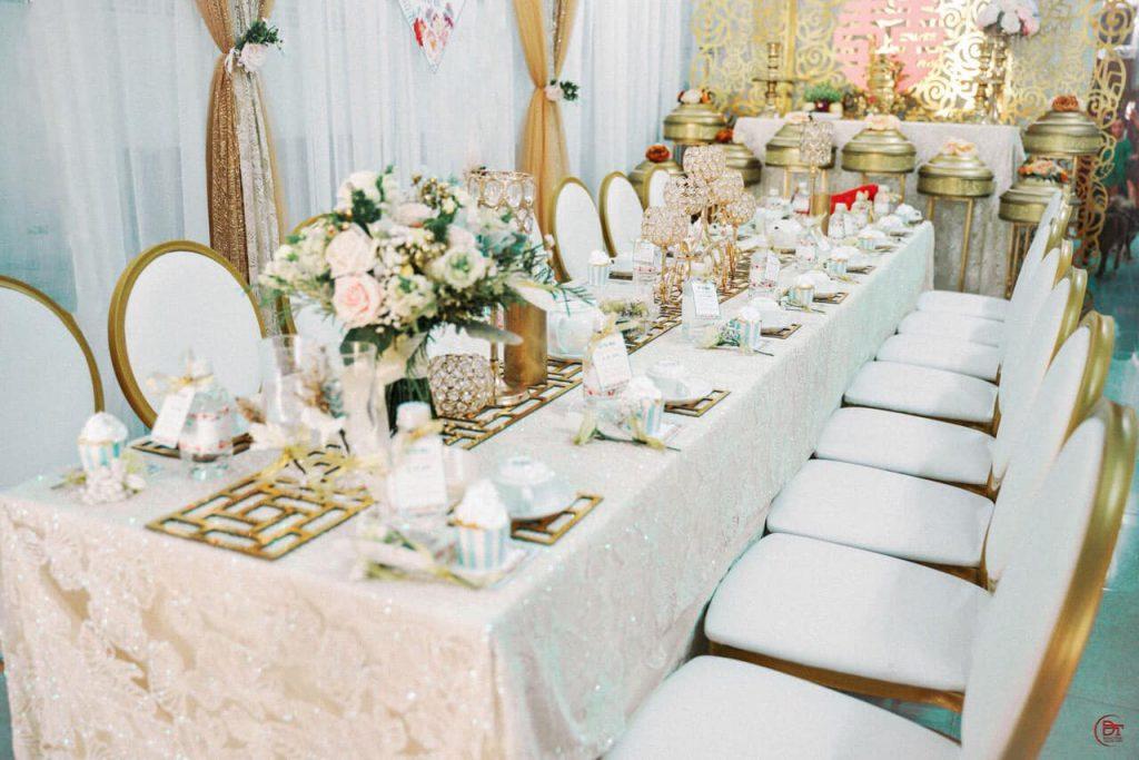 Ghế louis tiệc cưới