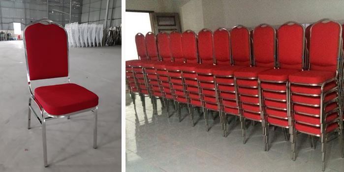 ghế banquet inox