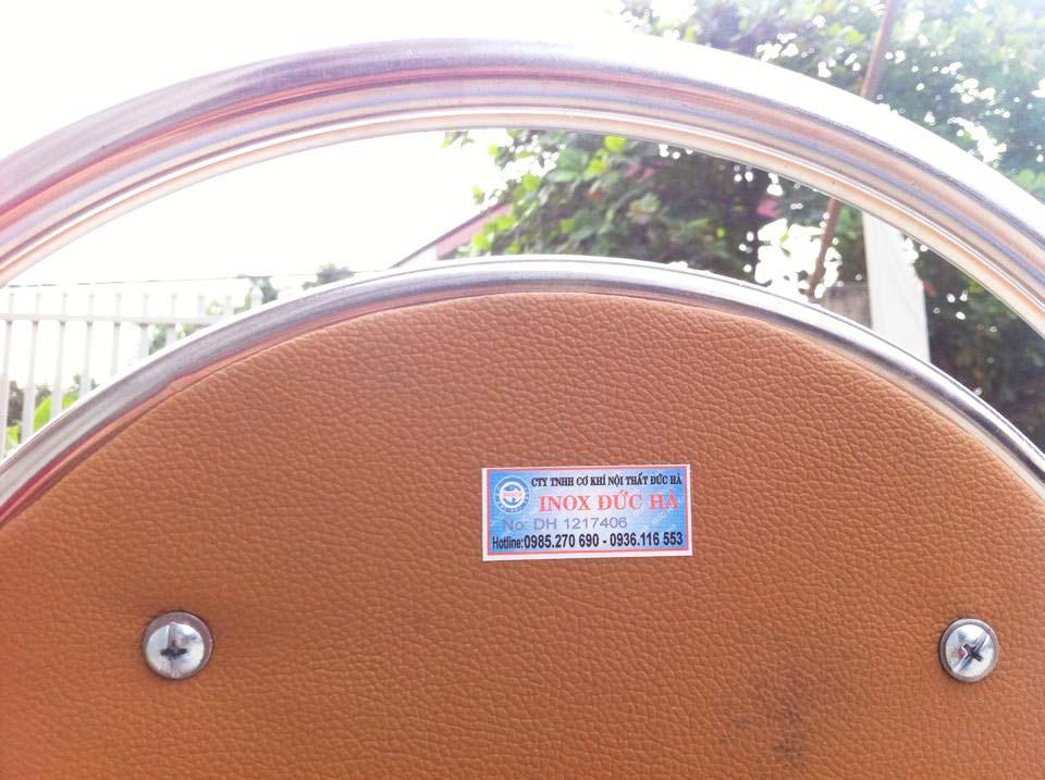 Đệm ghế xếp dựa inox giá rẻ