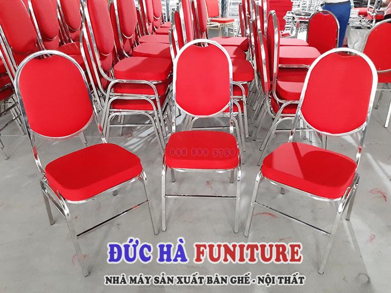 sản xuất ghế banquet inox