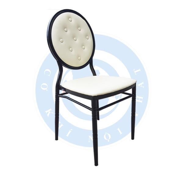 Ghế lưng tròn cúc